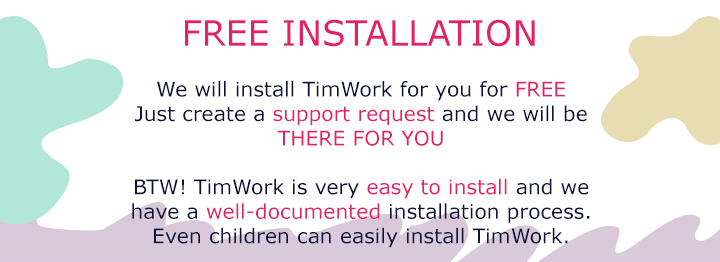 TimWork SaaS - Project Management System